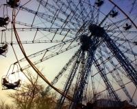 Колесо обозрения в Павлодаре