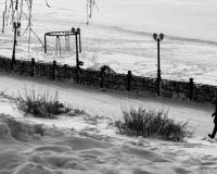 Зимой на павлодарской набережной