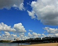 Облака над Павлодаром