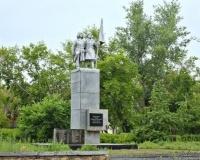 Памятник панфиловцам в городском парке