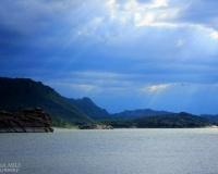 Небо на озером Жасыбай