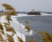 Берег Иртыша Зимой