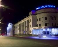Ночной Павлодар. Казахтелеком