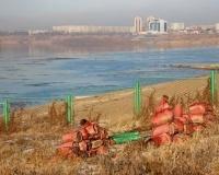 осенний Иртыш в Павлодаре