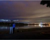 Ночной и вечерний Павлодар