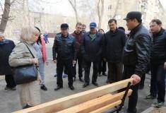 В Павлодаре начали ремонт внутридворовых территорий