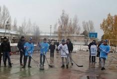 Игроки хоккейного клуба «Ертіс» навестили воспитанников Мичуринского детского дома