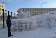 Юрту ЭКСПО возвели в колонии строгого режима в Уральске