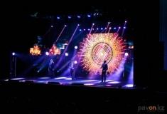 Красочный концерт ко Дню Первого Президента прошел в Павлодаре
