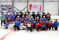 В городе Аксу открылся крытый хоккейный корт