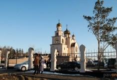 В Павлодаре состоялось открытие нового храма Архангела Михаила