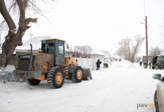 Уборку снега в частном секторе Второго Павлодара планируют закончить к середине февраля