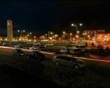 Ночной Павлодар. Автор: Александр Борщёв