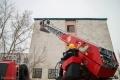 Павлодарские пожарные спасли из задымленного дома пятерых детей