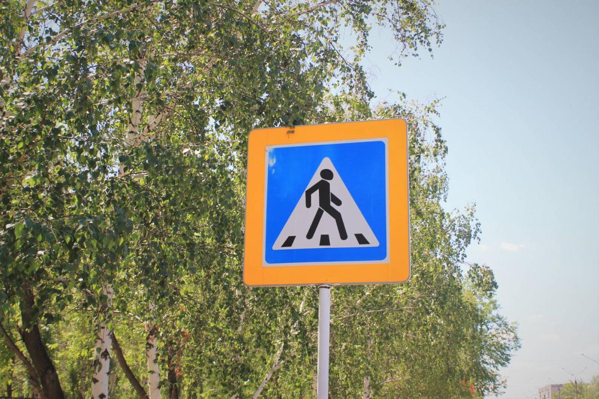 Павлодарка переходила дорогу на красный и попала под колеса авто