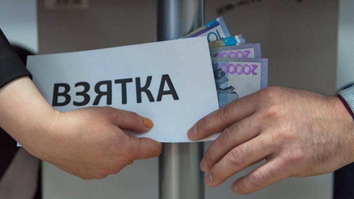 Штраф в 30 раз больше взятки выплатит чиновник в Туркестанской области