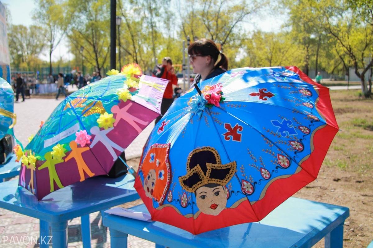 Зонтик на конкурс своими руками 490