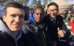 Студент из Нигерии приобщается к культуре Казахстана