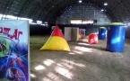 Новая игровая площадка для лазертага и пейнтбола