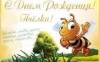 С Днём рождения, Пчелка!