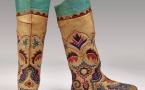 В Британском музее можно увидеть казахскую обувь начала XX века