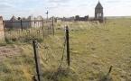 В Павлодарской области задержан мужчина, подозреваемый в краже оградок на кладбище
