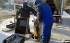 32-килограммовый робот обследует центральный коллектор Павлодара