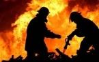 Восемь человек пострадали в результате крупного пожара в Павлодаре