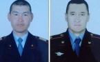 Озвучены имена павлодарских полицейских, подставившихся под КамАЗ ради спасения детей