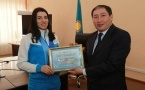 Нуржан Ашимбетов наградил спортсменов в Павлодаре