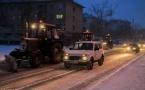 Борьба со снегом начнется вечером