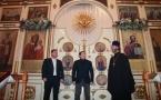 Заместители акимов Павлодарской области и города Павлодара поздравили православных с Рождеством