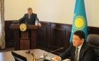 Аким Железинского района отчитался перед областным руководством