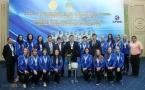 Булат Бакауов пообещал и дальше оказывать поддержку павлодарским волейболисткам