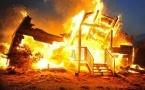 Два человека погибли в огне в Лебяжинском районе