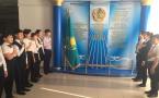 Пять тысяч павлодарских школьников соревновались на лучшее исполнение гимна Казахстана