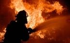 В селе Узынсу сгорело 170 тонн сена