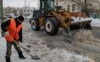 На уборку снега с улиц города понадобится около двух недель
