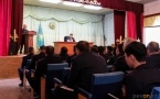 Булат Бакауов начал общение с местной полицией в новом году с анекдота