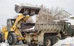 В Павлодаре остались не убранными от снега порядка 10 улиц