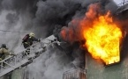 Четыре ребенка  пострадали при пожаре в Павлодаре