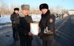 Павлодарских полицейских наградили за раскрытие преступлений по горячим следам