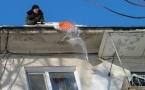 Павлодарские КСК вышли на борьбу с сосульками
