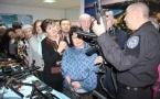 В Павлодаре прошла выставка полицейской спецтехники и оружия