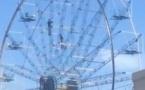 Подростки-экстремалы забрались на колесо обозрения в Павлодаре