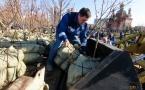 В Павлодаре во время первого весеннего субботника высадили свыше 200 деревьев