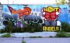 Граффити павлодарских улиц