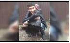 Житель Ингушетии обучил индюка обнимашкам