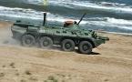 Четыре БТР армии Казахстана затонули во время учений в Каспийском море