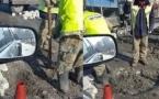 Почему ямы на дорогах Семея засыпают кирпичами, пояснили в отделе ЖКХ